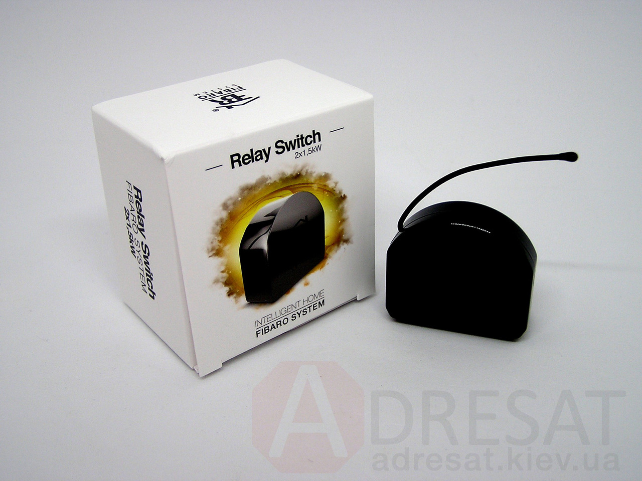 FGS-222 FIBARO Relay Switch 2x1,5 kW, Z-Wave реле 2-канальний