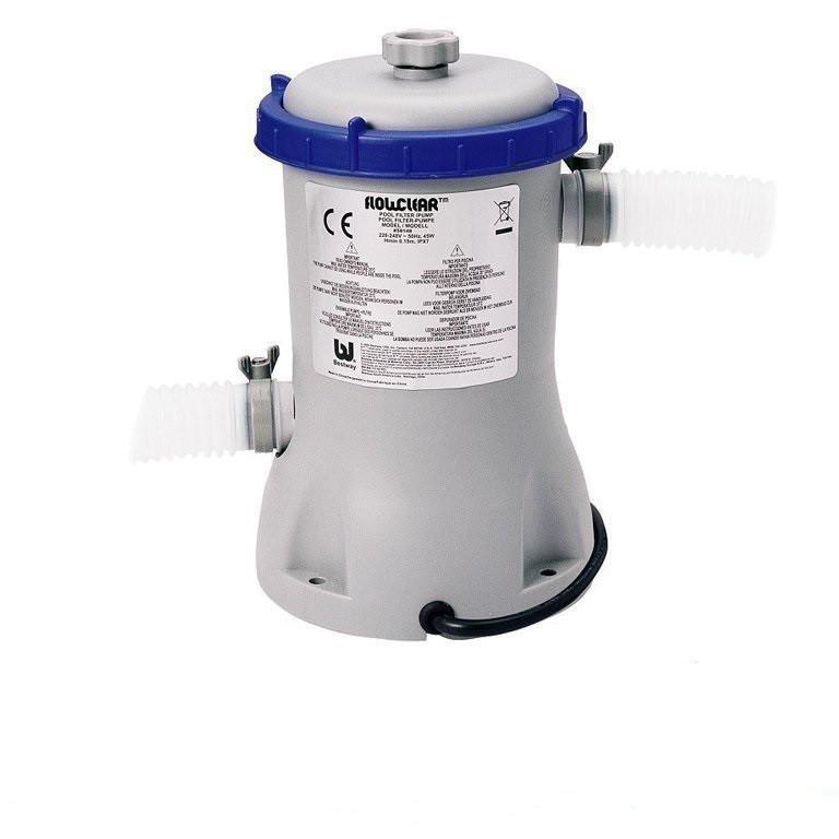 Картріджний фільтр насос Bestway 58386 (58117), потужністю 3 028 лч