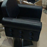 Парикмахерское кресло для салонов красоты на гидравлике + квадратная база мод.081