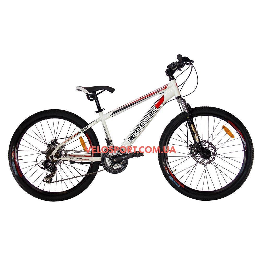 Горный велосипед Crosser Force 26 дюйма белый