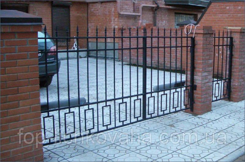Ворота во двор