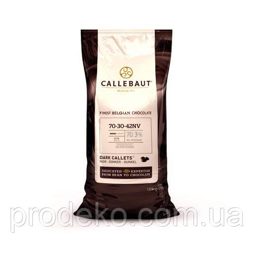 "Шоколад чёрный ""Callebaut Strong"", 70,3 % 5кап 1 кг"