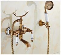 Смеситель для ванной комнаты в бронзе 2-046, фото 1