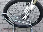 Велопарковка на 2 велосипеди Cross-2 Польща, фото 2