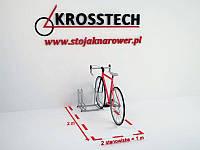 Велопарковка на 2 велосипеди Rad-2 Польща, фото 1