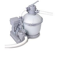 Песочный насос фильтр с озонатором Bestway 58402 (58286) Sand Filter Pump, мощностью 4 542 лч