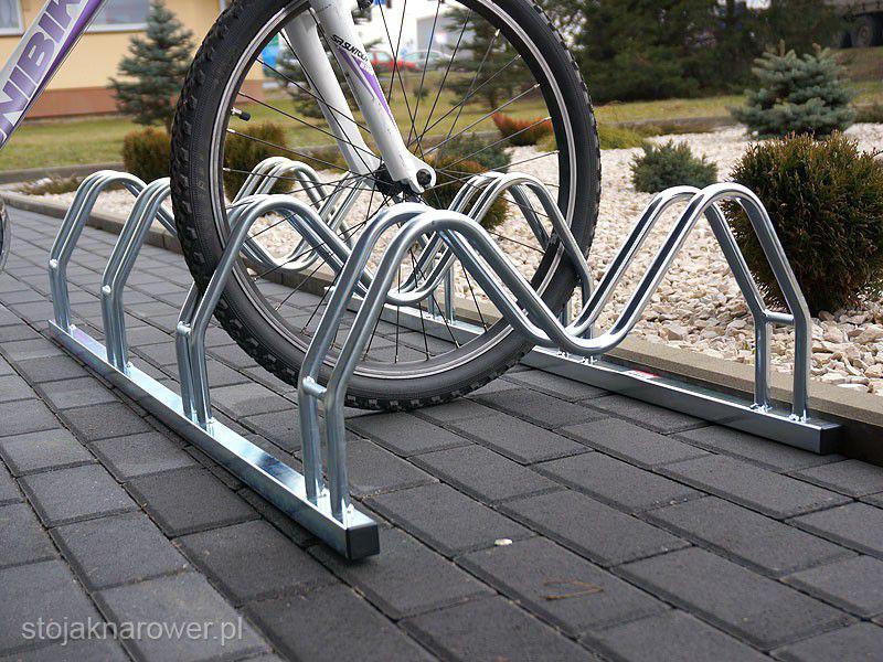 Велопарковка на 3 велосипеди Smile-3 Польща