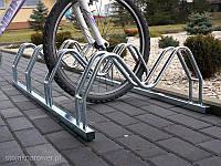 Велопарковка на 3 велосипеди Smile-3 Польща, фото 1