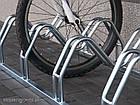 Велопарковка на 3 велосипеди Smile-3 Польща, фото 2
