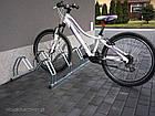 Велопарковка на 3 велосипеди Smile-3 Польща, фото 4
