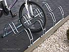 Велопарковка на 3 велосипеди Smile-3 Польща, фото 6