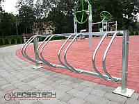 Велопарковка на 4 велосипеди Echo-4 Pion Польща, фото 1