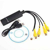 USB регистратор видеозахвата EasyCAP, для камер видеонаблюдения