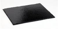Поднос (сланец) из натурального камня прямоугольный 30x22 см Украина 30/22, фото 1