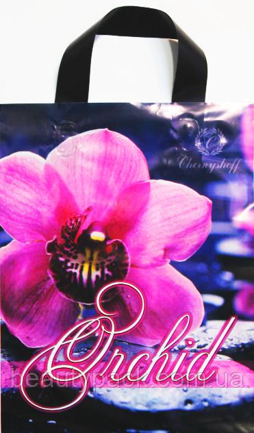 Пакет полиэтиленовый петля орхидея 23 х30 см / уп-25шт
