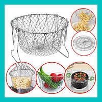 Складная решетка для приготовления Chef Basket!Опт