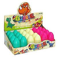 Мыльные пузыри 1080 яйца динозавры, 3 цвета, в боксе