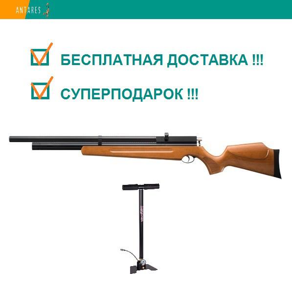 Пневматическая винтовка SPA M22 дерево предварительная накачка PCP 305 м/с с насосом