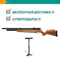 Пневматическая винтовка SPA M22 дерево предварительная накачка PCP 305 м/с с насосом, фото 1