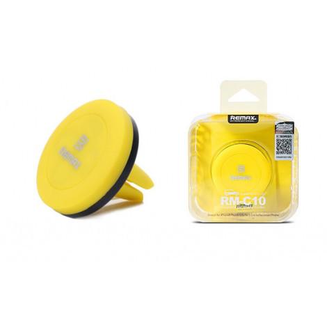 Держатель для телефона Remax RM-C10 yellow