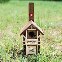 Скворечник для птиц Швейцария 25 см