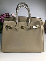 Женская сумка Гермес Биркин 35 см беж (реплика) 60a95ce1b2ad4