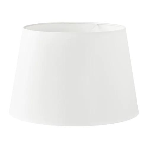 Абажур IKEA JÄRA 44 см белый 603.283.54