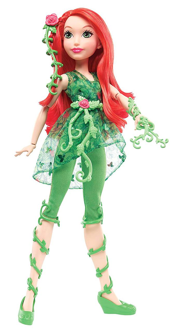 "Кукла DC Супер герои Пойзон Айви Ядовитый плющ Super Hero Girls Poison Ivy 12"" Action Doll"