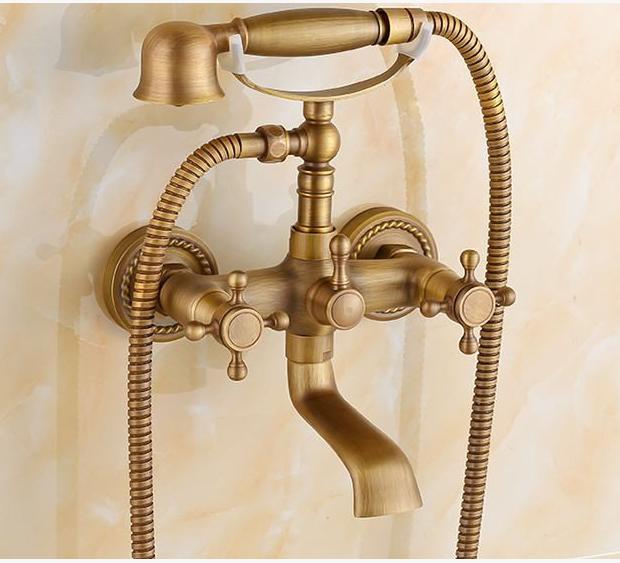 Смеситель для ванны в цвете бронзы 2-047