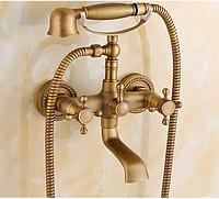 Смеситель для ванны в цвете бронзы 2-047, фото 1