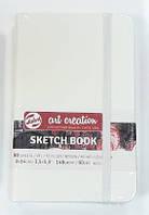 Блокнот для графики Talens Art Creation 9*14см 80л 140г/м белая обложка