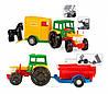 Трактор с прицепом WADER 39009