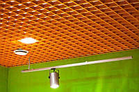 Потолок грильято ячейка 60х60х40  алюминиевый и оцинковка  цветной