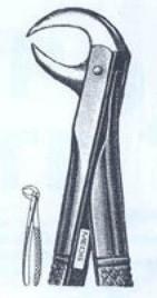 Щипцы для удаления нижних моляров (Пакистан) ZOOBLE