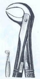 Щипцы для удаления нижних моляров (Пакистан) M-351-86B NaviStom