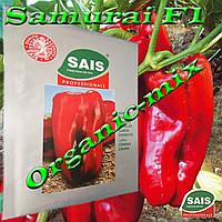 Перец сладкий САМУРАЙ F1 / SAMURAI F1, проф. пакет 1000 семян ТМ Sais (Италия), фото 1