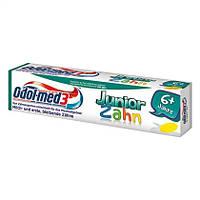 "Odol med 3 Kinderzahnpasta Junior Zahn 6+ Jahre ""Fresh Mint"" - Детская зубная паста от 6 лет ""Свежая мята"""