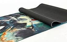 Коврик для йоги  Джутовый FI-7157-3, фото 2