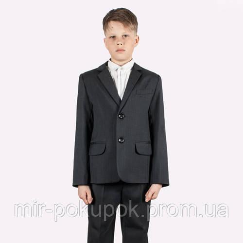 Школьный костюм на мальчика графит 128, Украина, фото 1