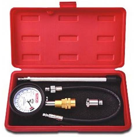 Компрессометр бензиновый со сменными наконечниками Toptul JGAI0402, фото 2
