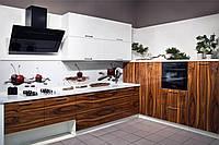 Кухни под заказ фасад шпон