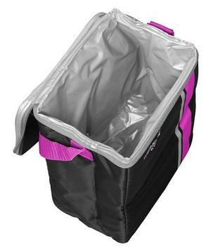 Изотермическая сумка ThermoCafe 12Can Cooler, 9 л цвет розовый, фото 2