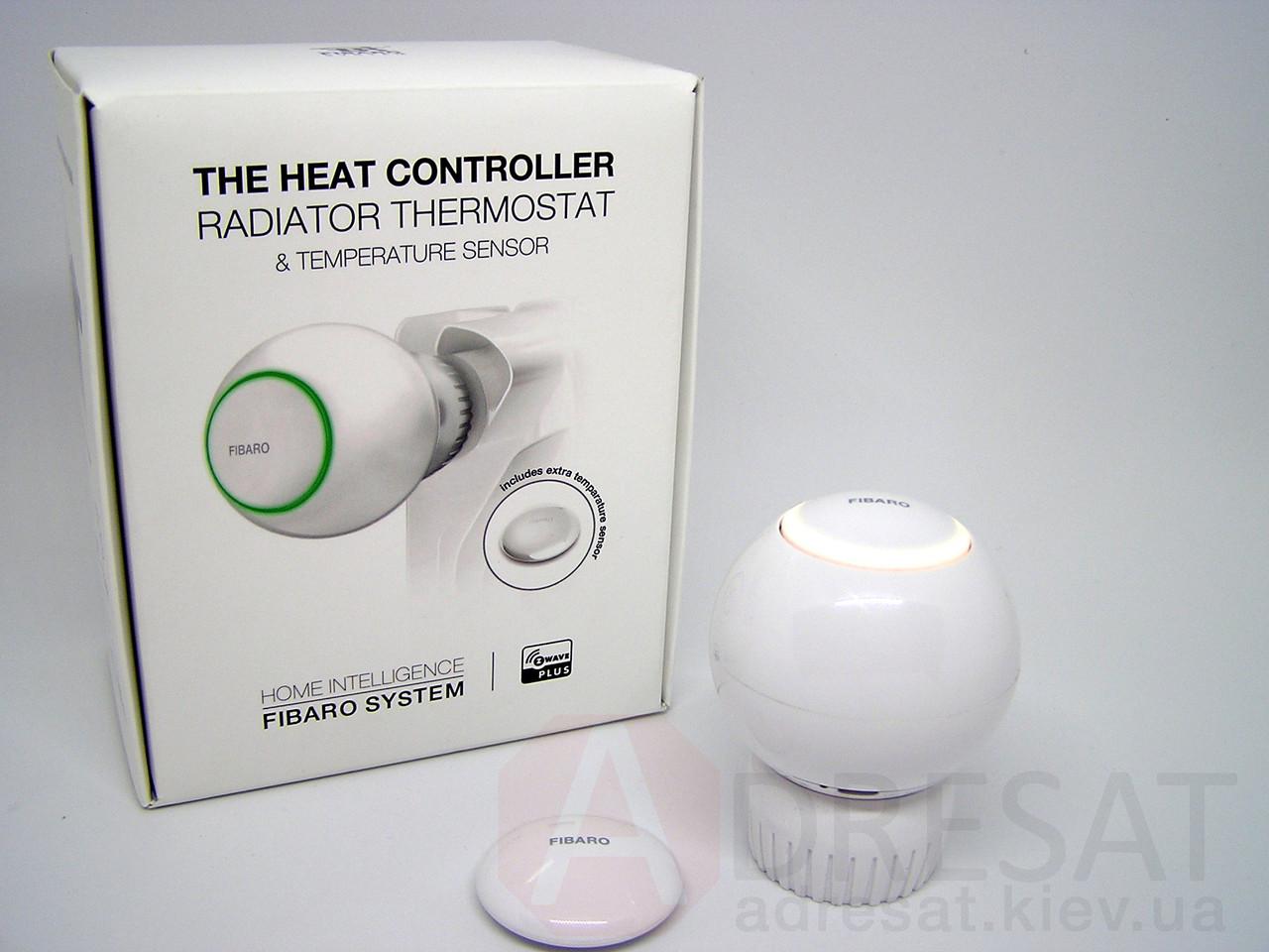 Радіаторний термостат з датчиком температури FIBARO Radiator Thermostat Starter Pack — FIBEFGT-START