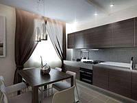 Кухня фасад из шпона