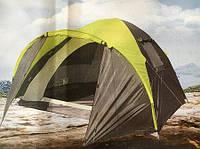 Палатка 3-х местная GreenCamp 1011-2, на 2 входа , фото 1