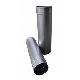 Труба дымоходная одностенная толщиной 0.8 мм/нержавеющая сталь 321