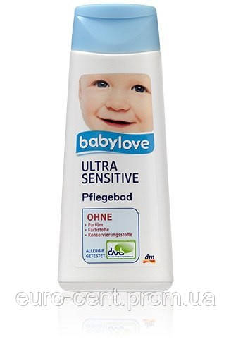 Крем для ванны для сверхчувствительной кожи Babylove Ultra Sensitive PflegeBad