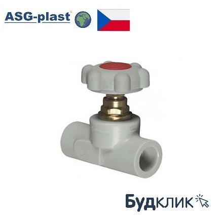 Вентиль Полипропиленовый 20 Asg-Plast (Чехия)