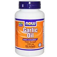Garlic Oil  Чеснок (масло)  1500 мг 250 капс глисты энтеробиоз  иммунитет холестерин  Now Foods USA