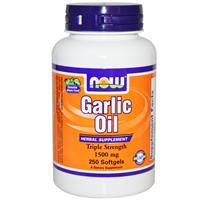 Garlic Oil  Чеснок (масло)  1500 мг 250 капс глисты энтеробиоз  иммунитет холестерин  Now Foods USA